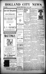 Holland City News, Volume 32, Number 9: March 13, 1903