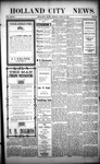 Holland City News, Volume 32, Number 23: June 19, 1903