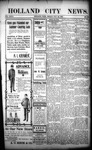 Holland City News, Volume 32, Number 28: July 24, 1903