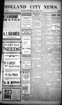 Holland City News, Volume 32, Number 30: August 7, 1903