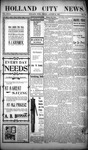 Holland City News, Volume 32, Number 32: August 21, 1903