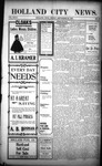 Holland City News, Volume 32, Number 37: September 25, 1903