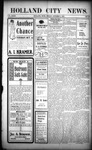 Holland City News, Volume 32, Number 39: October 9, 1903 by Holland City News