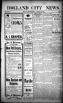 Holland City News, Volume 32, Number 41: October 23, 1903