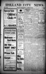 Holland City News, Volume 32, Number 42: October 30, 1903 by Holland City News