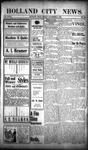 Holland City News, Volume 32, Number 43: November 6, 1903