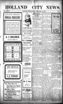 Holland City News, Volume 33, Number 5: February 12, 1904