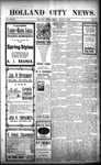 Holland City News, Volume 33, Number 8: March 4, 1904
