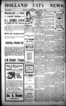 Holland City News, Volume 33, Number 39: October 7, 1904