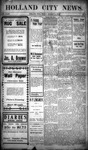 Holland City News, Volume 34, Number 1: January 13, 1905