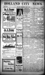 Holland City News, Volume 34, Number 26: July 7, 1905