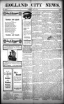 Holland City News, Volume 36, Number 29: July 25, 1907