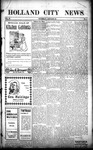 Holland City News, Volume 37, Number 4: January 30, 1908
