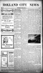 Holland City News, Volume 37, Number 6: February 13, 1908