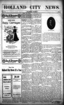 Holland City News, Volume 37, Number 9: March 5, 1908