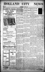 Holland City News, Volume 37, Number 17: April 30, 1908