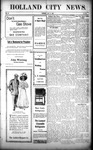 Holland City News, Volume 37, Number 26: July 2, 1908