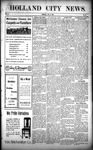 Holland City News, Volume 37, Number 29: July 23, 1908