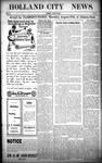 Holland City News, Volume 37, Number 33: August 20, 1908