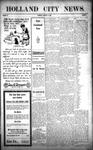 Holland City News, Volume 38, Number 2: January 14, 1909