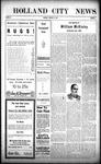 Holland City News, Volume 38, Number 4: January 28, 1909