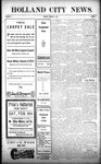 Holland City News, Volume 38, Number 5: February 4, 1909