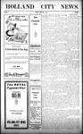 Holland City News, Volume 38, Number 7: February 18, 1909