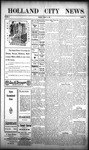Holland City News, Volume 38, Number 11: March 18, 1909