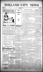 Holland City News, Volume 38, Number 12: March 25, 1909