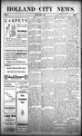 Holland City News, Volume 38, Number 14: April 8, 1909