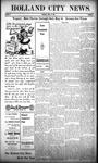 Holland City News, Volume 38, Number 17: April 29, 1909