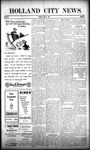 Holland City News, Volume 38, Number 20: May 20, 1909