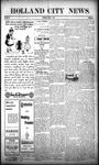 Holland City News, Volume 38, Number 22: June 3, 1909