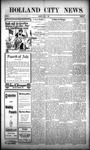 Holland City News, Volume 38, Number 26: July 1, 1909
