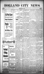 Holland City News, Volume 38, Number 28: July 15, 1909