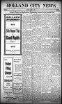 Holland City News, Volume 38, Number 32: August 12, 1909 by Holland City News
