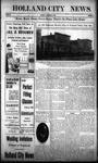Holland City News, Volume 38, Number 38: September 23, 1909