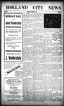 Holland City News, Volume 38, Number 52: December 30, 1909