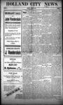 Holland City News, Volume 39, Number 2: January 13, 1910