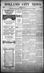 Holland City News, Volume 39, Number 12: March 24, 1910