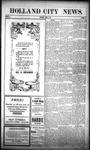 Holland City News, Volume 39, Number 16: April 21, 1910
