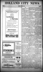 Holland City News, Volume 39, Number 39: September 29, 1910