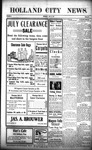 Holland City News, Volume 40, Number 28: July 13, 1911 by Holland City News
