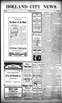 Holland City News, Volume 40, Number 29: July 20, 1911