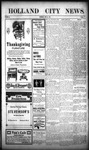 Holland City News, Volume 40, Number 47: November 23, 1911 by Holland City News