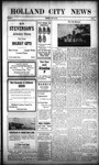 Holland City News, Volume 41, Number 48: November 28, 1912