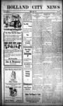 Holland City News, Volume 43, Number 20: May 21, 1914