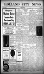 Holland City News, Volume 43, Number 30: July 30, 1914