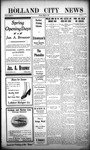 Holland City News, Volume 44, Number 11: March 18, 1915