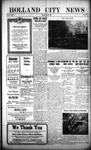 Holland City News, Volume 44, Number 20: May 20, 1915